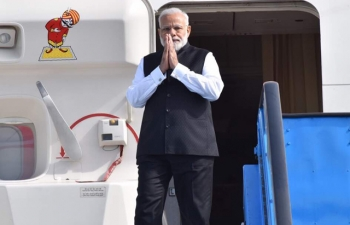 Honorable Prime Minister of India, Narendra Modi, visits the Netherlands