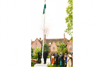 Indias 71st Independence Day Celebrations in the Netherlands