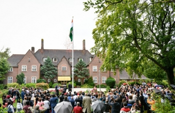 The 73rd Indian Independence Day celebrated with patriotic fervour in the Netherlands