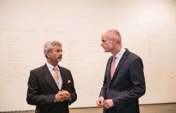 External Affairs Minister of India Dr.S.Jaishankar visited the Netherlands from November 9-11, 2019. During the visit,Dr. S. Jaishankar met with  Dutch Foreign Minster Stef Blok for comprehensive discussions on bilateral and multilateral issues of mutual interest. He also interacted with members of the Foreign Affairs Committee of the House of Representatives of the Dutch Parliament and Dutch dignitaries across the political spectrum.