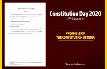 Constitution Day of India, November 26