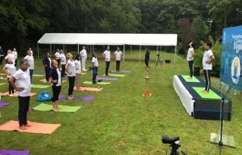 International Yoga Day Celebrations - June 19, 2021
